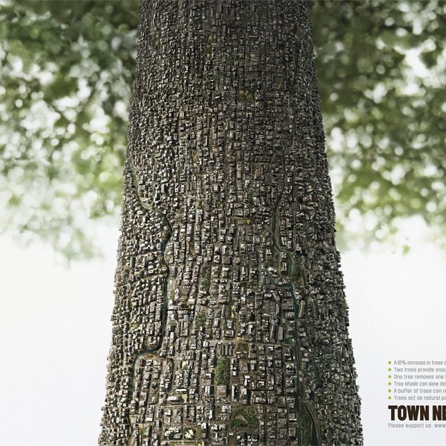 Town Needs Tree Ogilvy Group Thailand  Silver ADFEST 2014