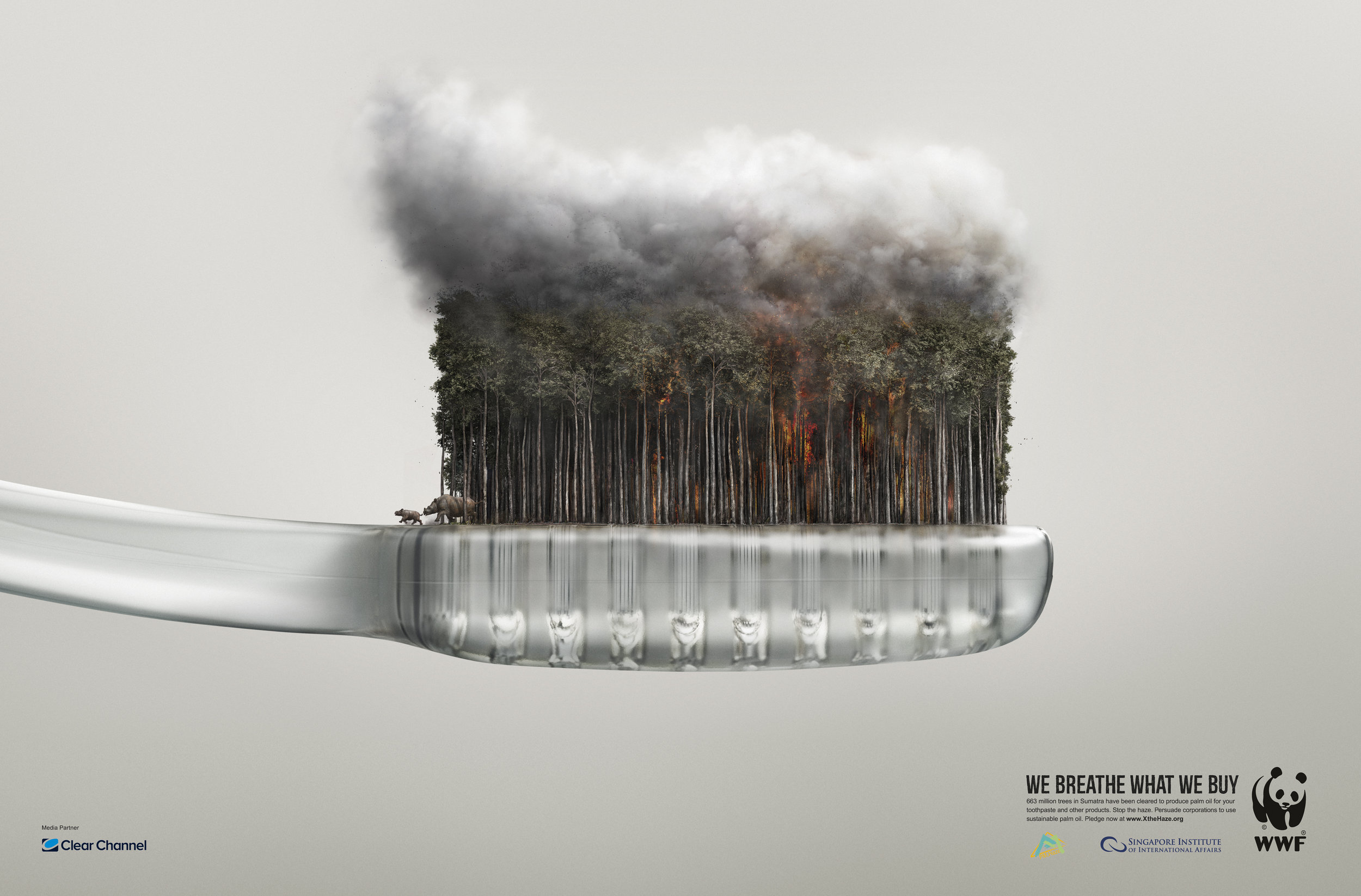 WWF Haze  Dentsu Mobius, Singapore