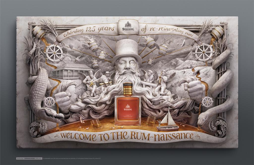 Bundaberg Rum 125th Anniversary   Leo Burnett Sydney  2 Silver AWARD 2013