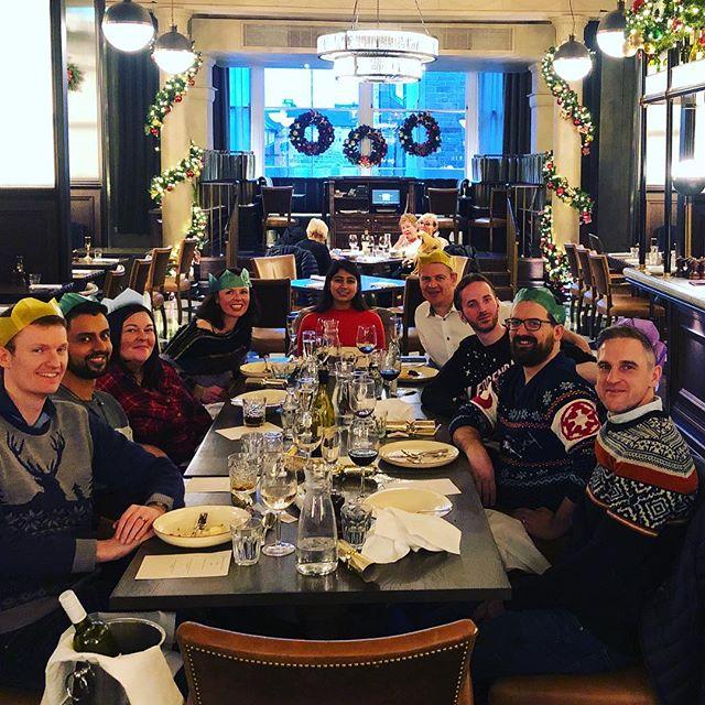 Team Xmas party 2018