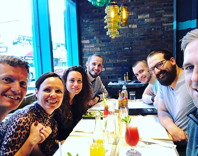 Team lunch (with margaritas of course) to welcome Tim to the team!