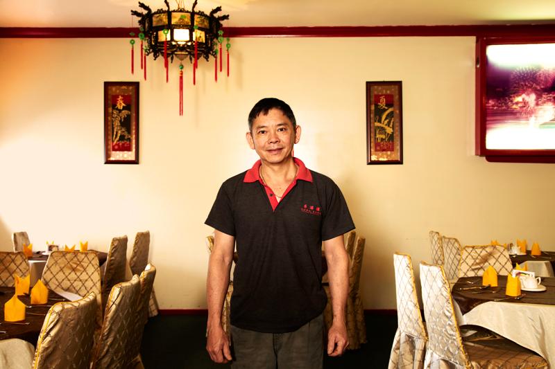 Hong Kong Chinese Restaurant, Cowra.  Tony Yap