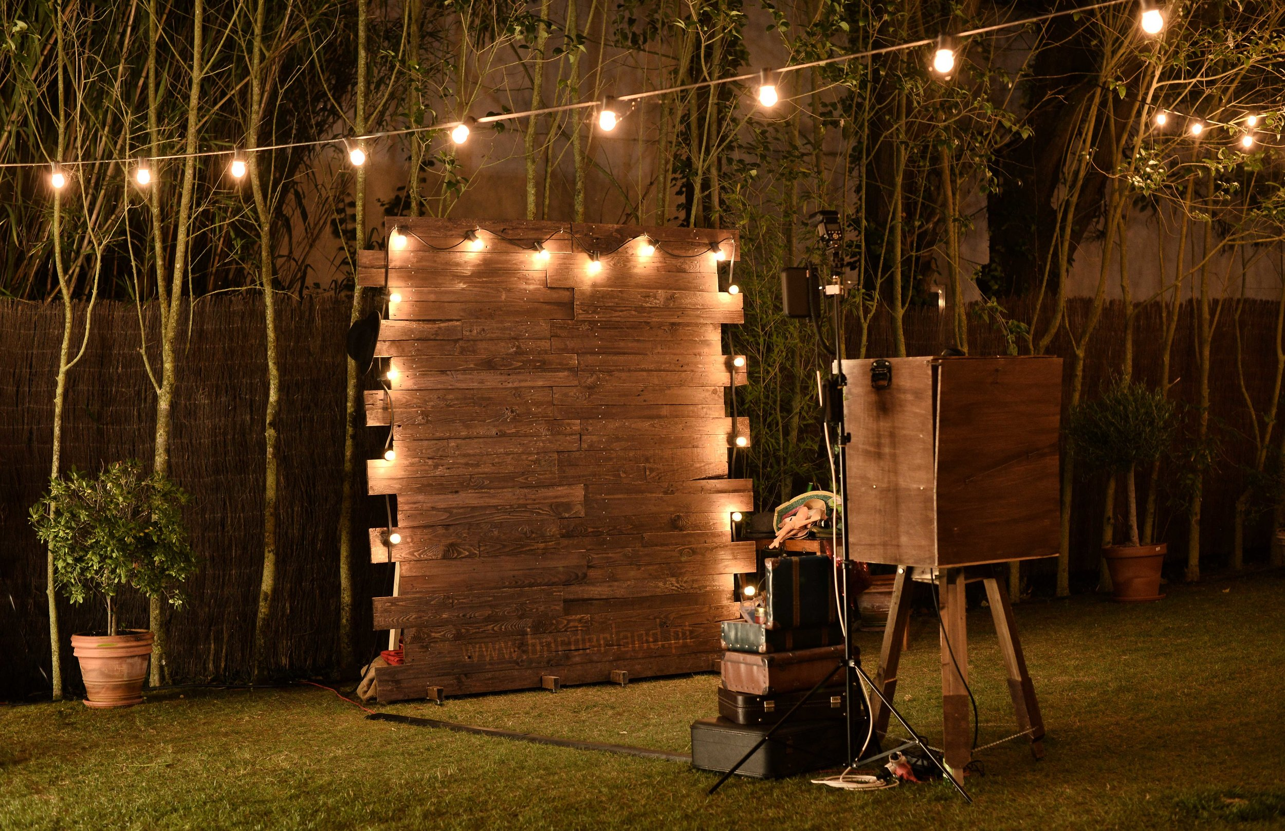 Rustic Photobooth