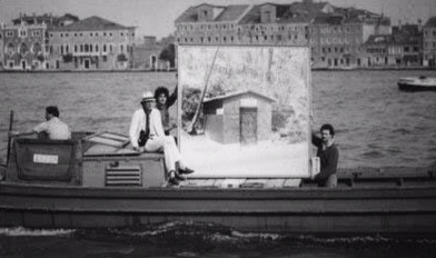UFO AT THE VENICE BIENNALE, 1978