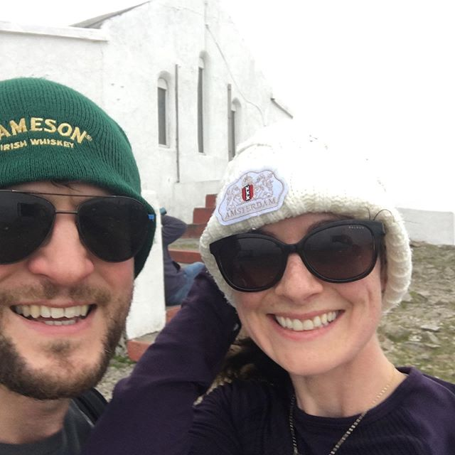 We made it to the top ⛰ #croaghpatrick