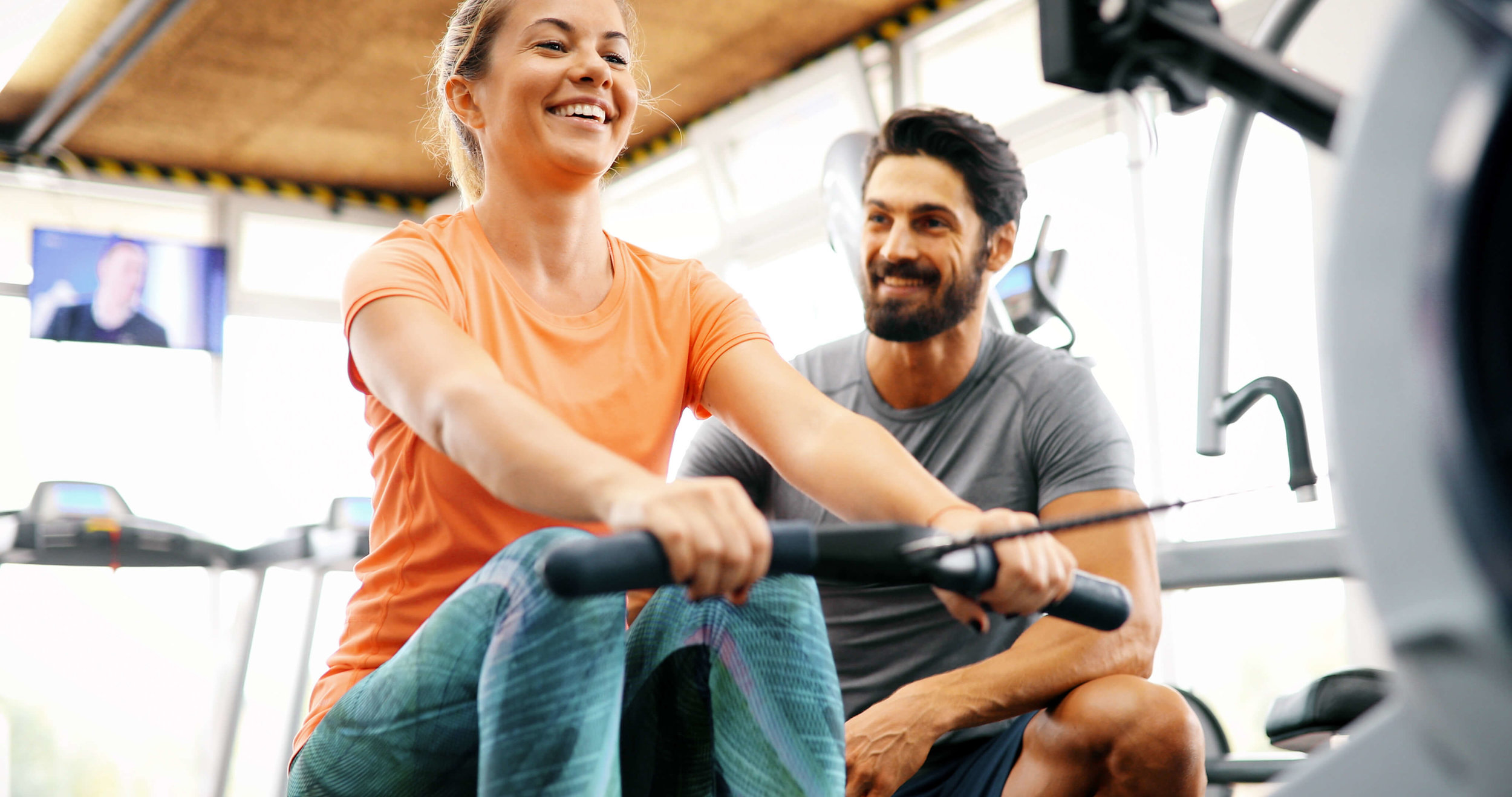 Personal Training - 30 and 60 minute sessions tailored to your fitness goals.