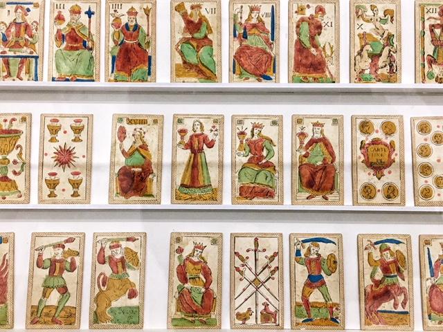 Tarocchi _ metà XVIII secolo