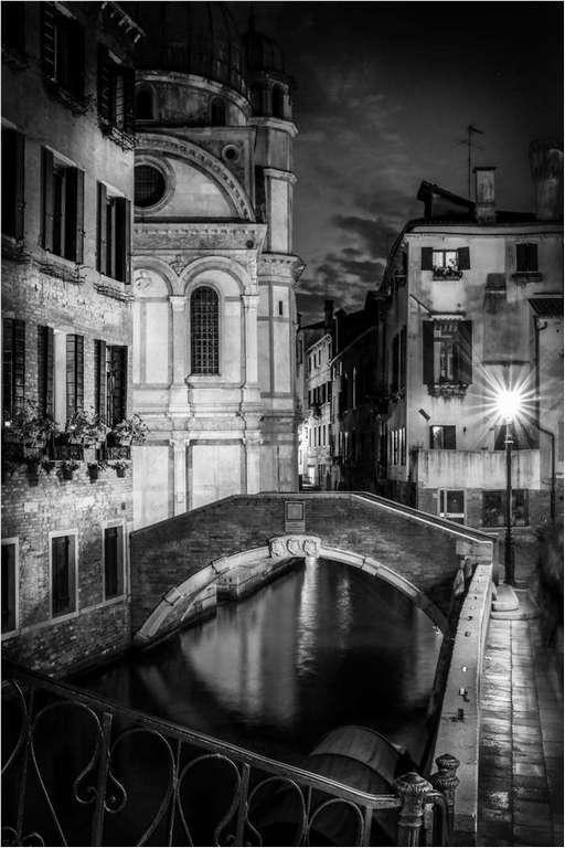 Quiet Backwater, Venice © Brian Adkins