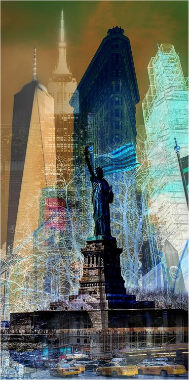 New York Montage © Elaine Adkins