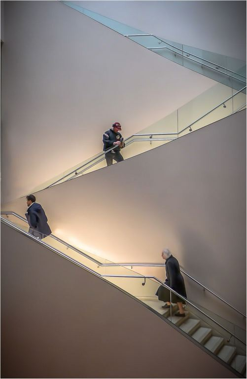 Staircase , The Ashmolean © Elaine Adkins