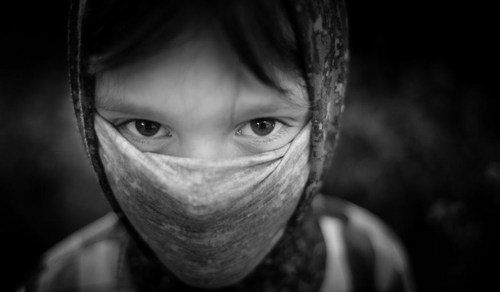 Masked Boy © Jim Pascoe BA(Hons) ABIPP