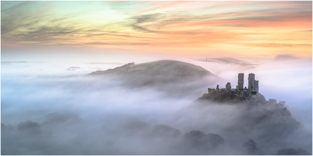 Misty Past   This pic was commended in 2015 in the Classic View category. It was two pictures combined to make a pano.    Nikon D800 24-85mm lens at 44mm ISO 100 .4 second at f8 Lee .6ND grad