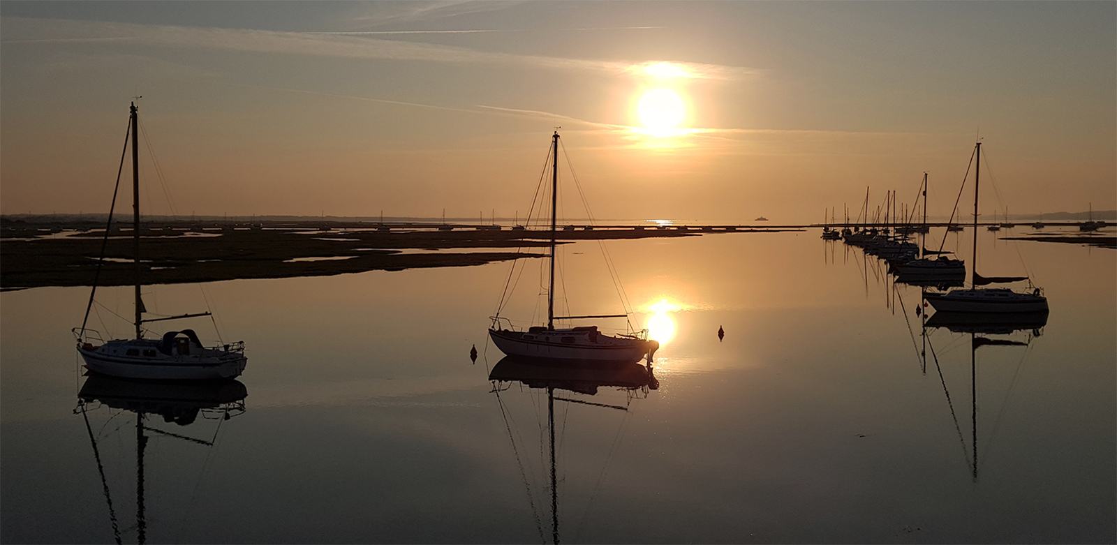 Keyhaven Sunrise © Simon Brown
