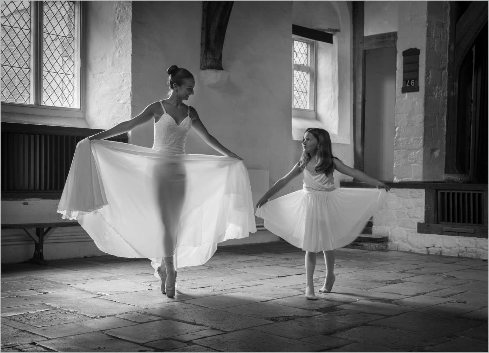 The Dance Teacher ©  Nicky Pascoe