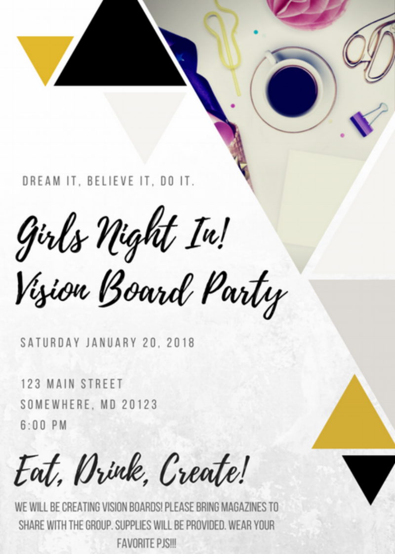 How to Plan a Vision Board Party — Creative Reflections Interior