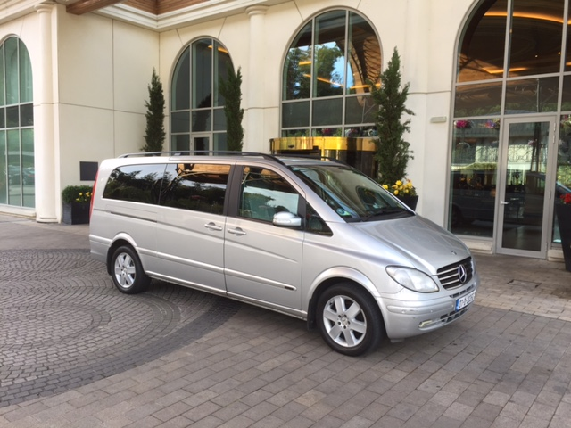 Executive MPV/Minivan suitable for corporate transfers/roadshows and tours up to 7 passengers