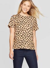 Leopard Tee- $19.99
