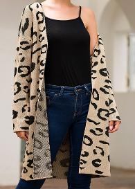 Leopard Cardigan- $21.99