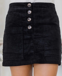 Corduroy Skirt- $38