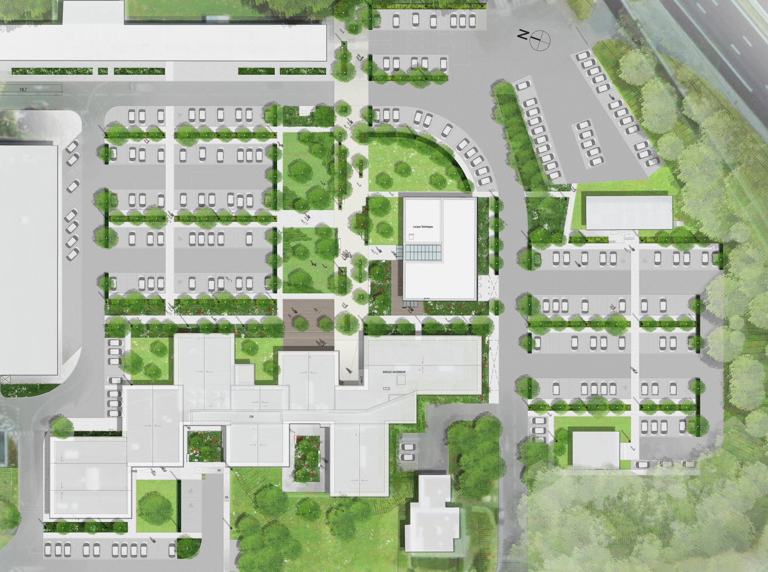 Jardins & Terrasses / SANEF, Senlis (60)    Projet en cours  : Livraison prévue pour 2019