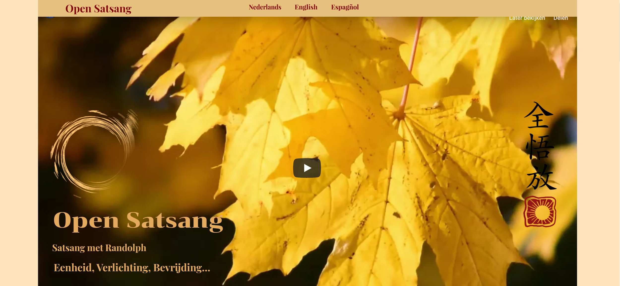 Open Satsang.nl