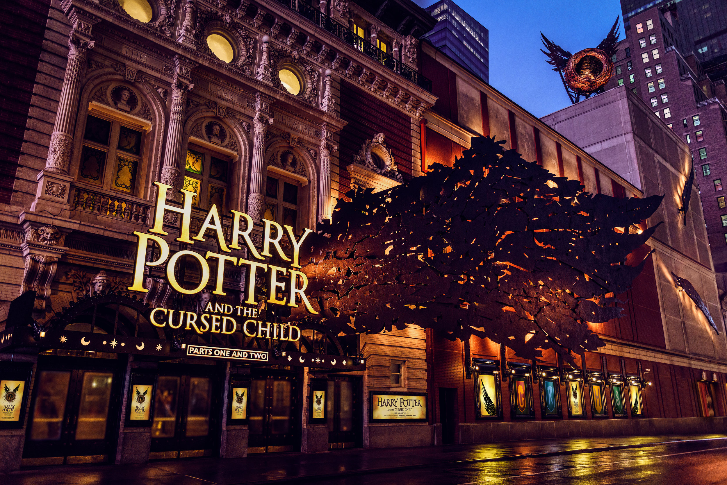 Harry Potter and the Cursed Child, Broadway