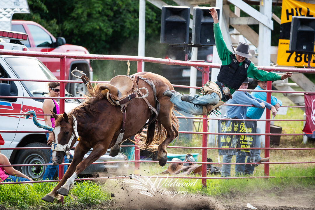PAUL WANCHUK competing at the Hairy Hill Friday Perf in Hairy Hill, Alberta, Canada on July 06, 2018. Photo taken by Wildwood Imagery / Chantelle Bowman.
