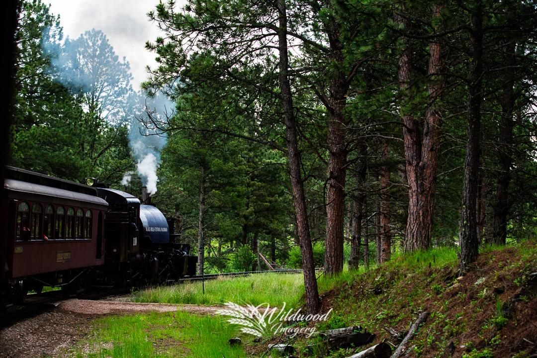 "June 20, 2018 ""1880's Train"" Hill City, South Dakota, US"