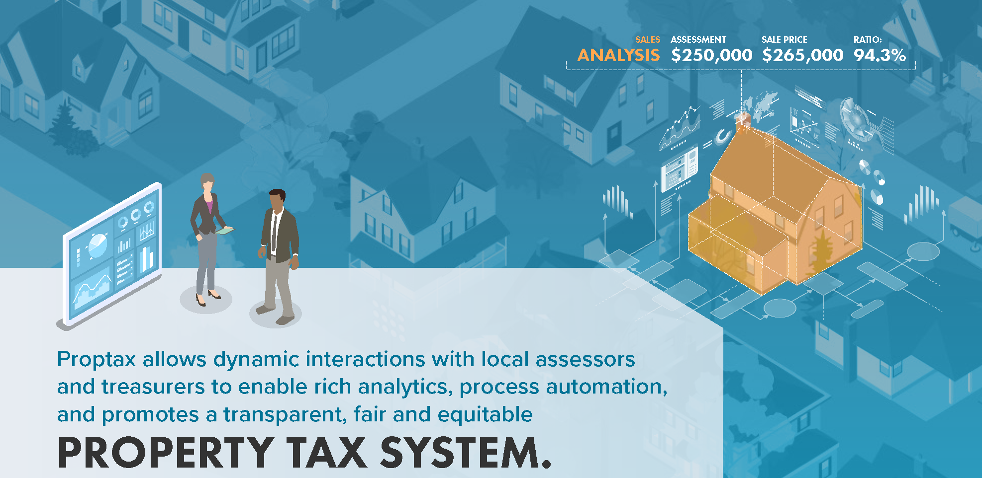 Built for States - Designed specifically for state property tax process and oversight of local taxation.