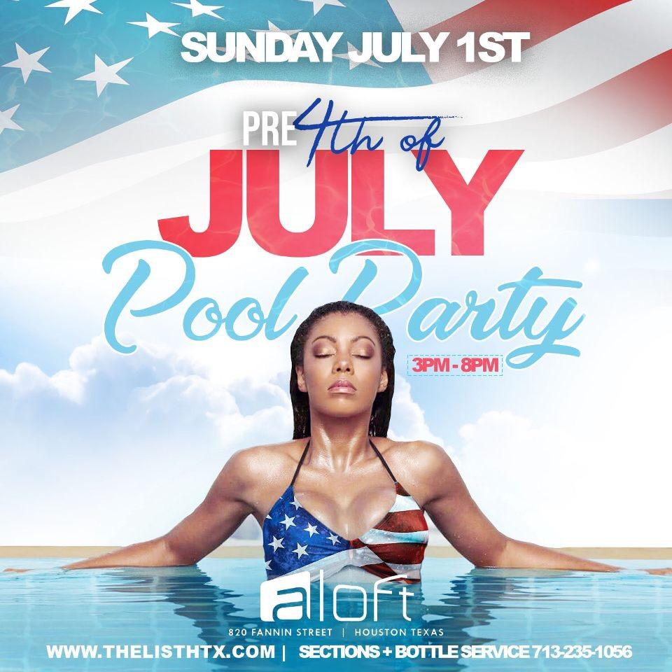 Pre 4th Of July Pool Party Hnlq