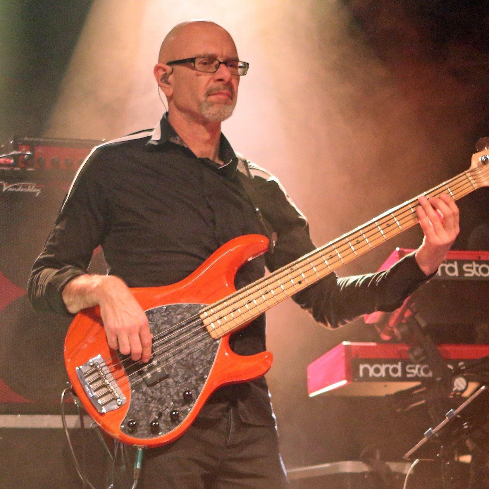 Jan Van OlffenErnie Ball Music Man - Freelance musician
