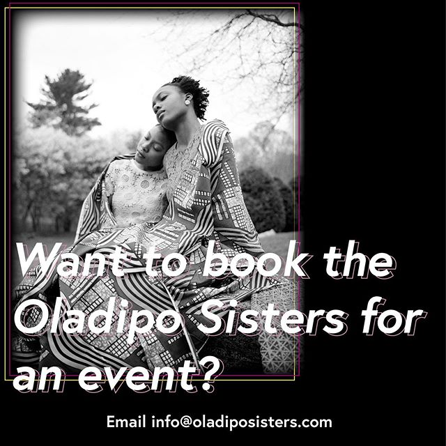 Open for business. Send us an email! #OladipoSisters #TheRebirth