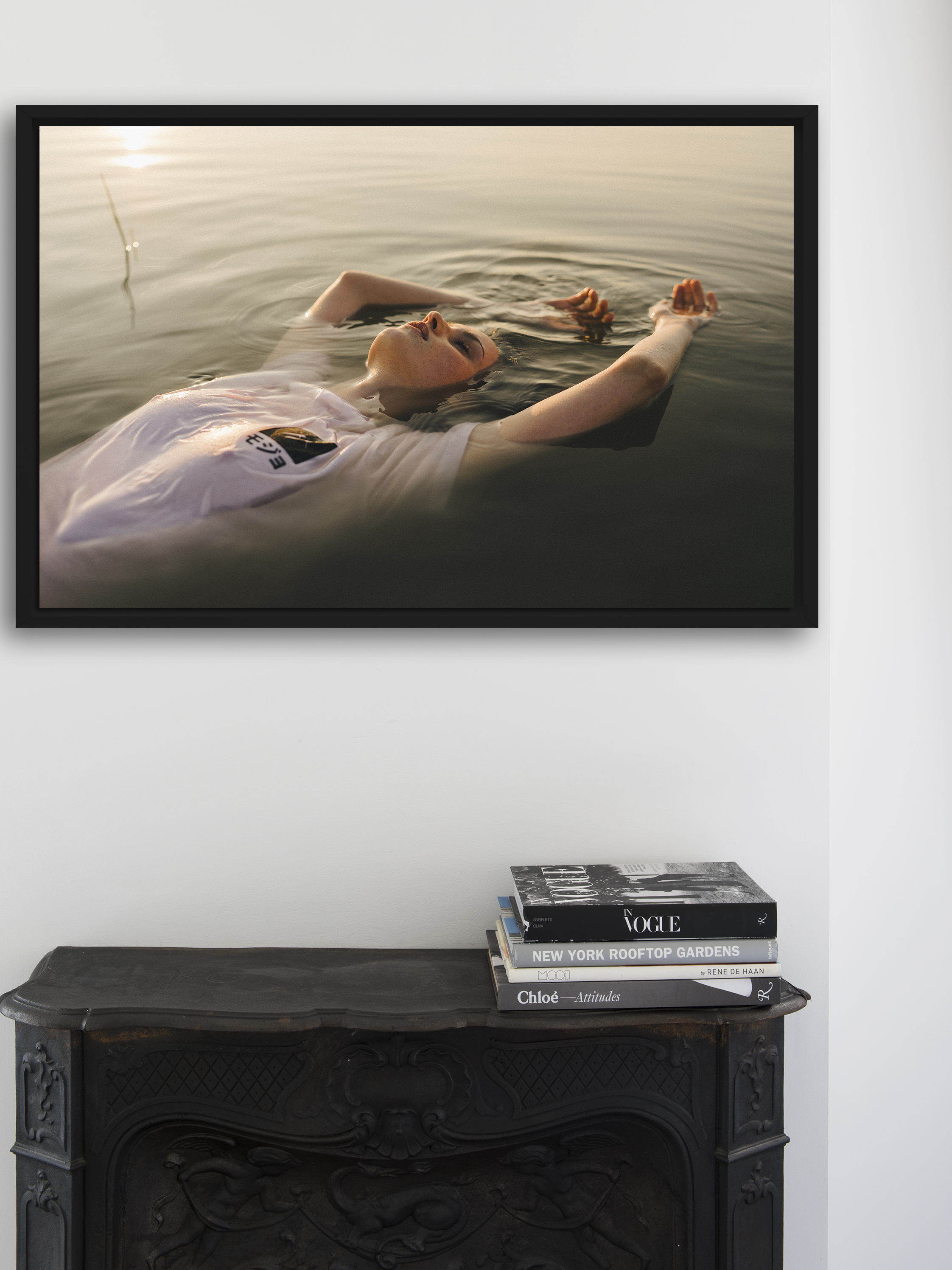 Frozen Lakeby Alexis White - Buy €265,-