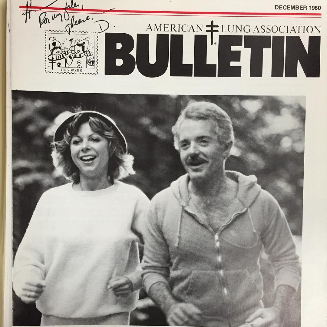 "I won't be able to make it fellas. Veronica and I are trying this new fade called ""jogging,"" or ""yogging""? It might be a soft ""j"". Apparently you just run for an extended period of time. It's supposed to be wild.     Jimmy Carter Presidential Library  Atlanta, GA"