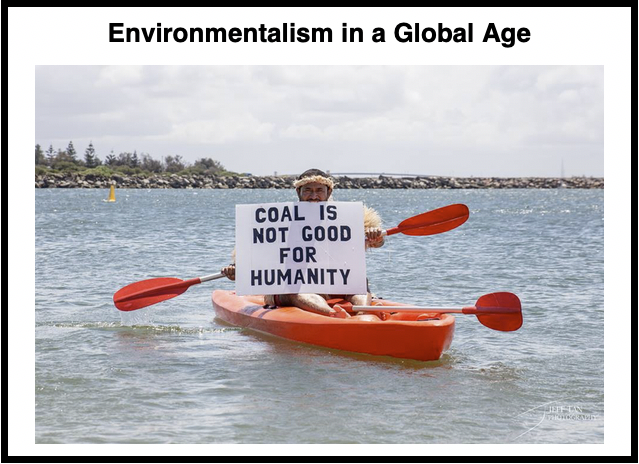 Environmentalism in a Global Age
