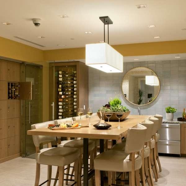 Chef's Kitchen & Wine Lockers