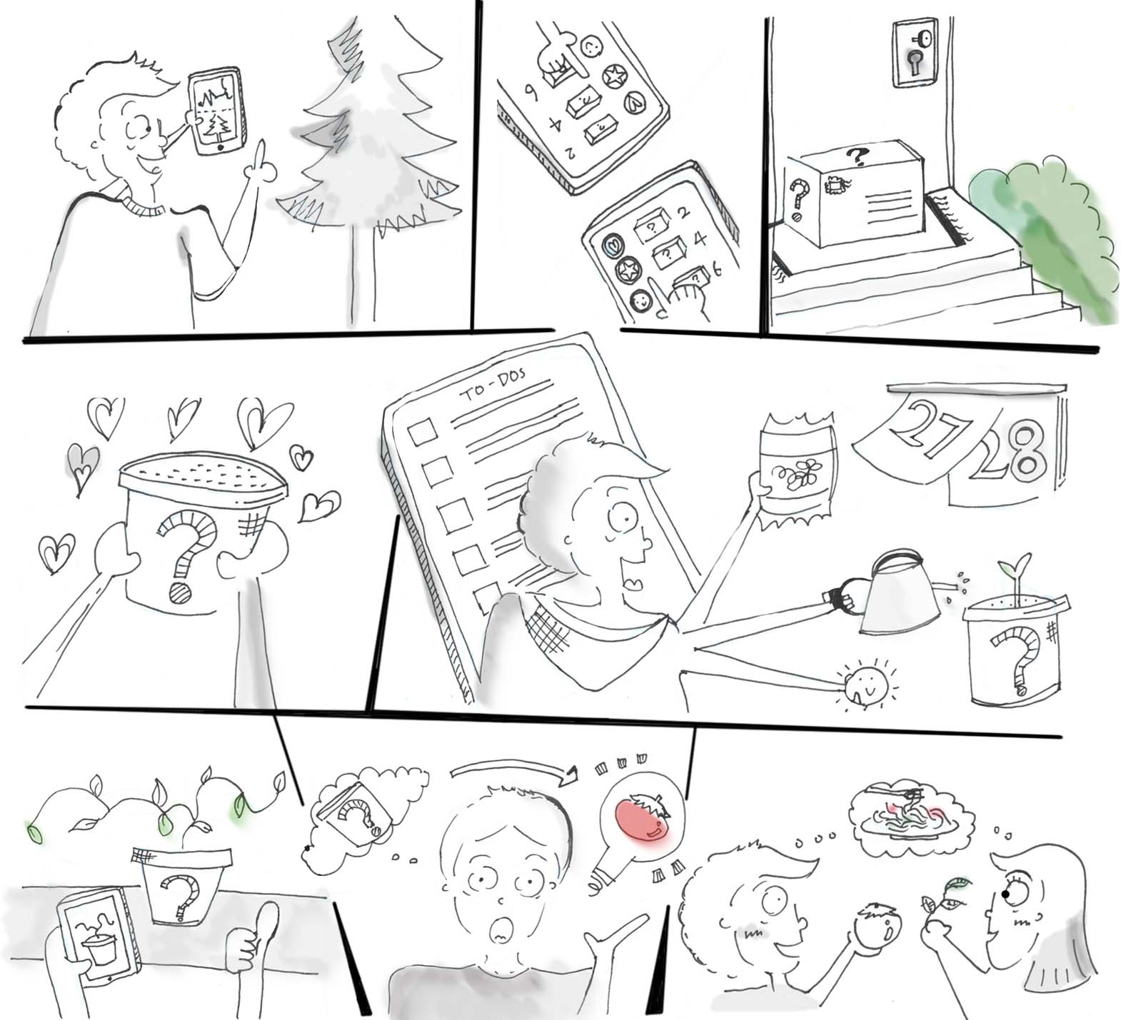Initial Storyboard