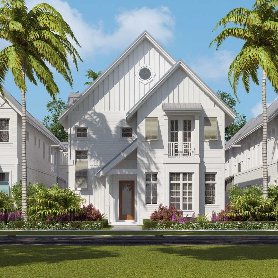 Emily Ann - Three Bedroom, Five and Half Bath, Living Room, Dining Room, Bonus Room, Loft, Cabana, Outdoor Living, 3-Car Garage