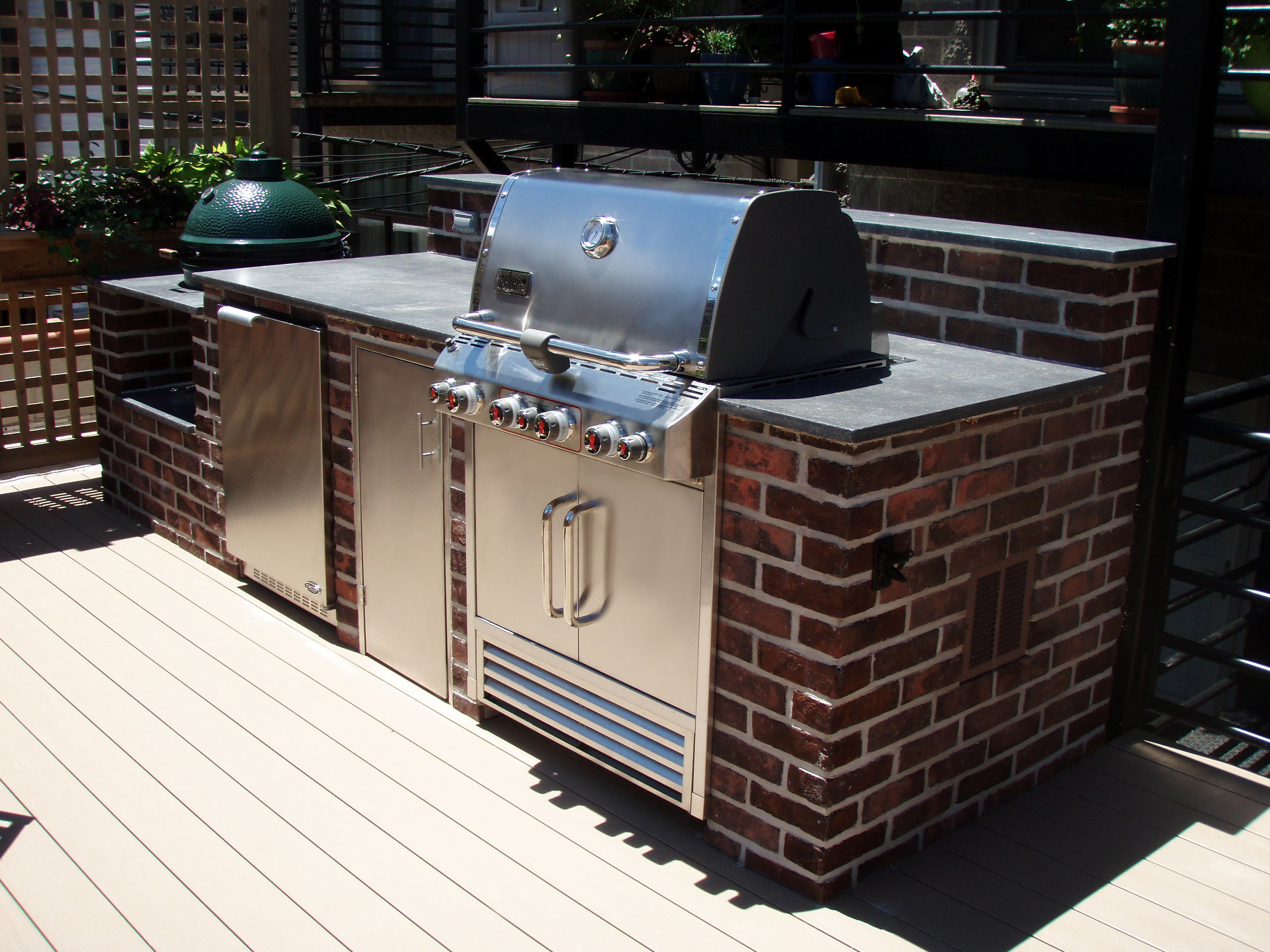 Concrete Grill Surround – The Concrete Moon