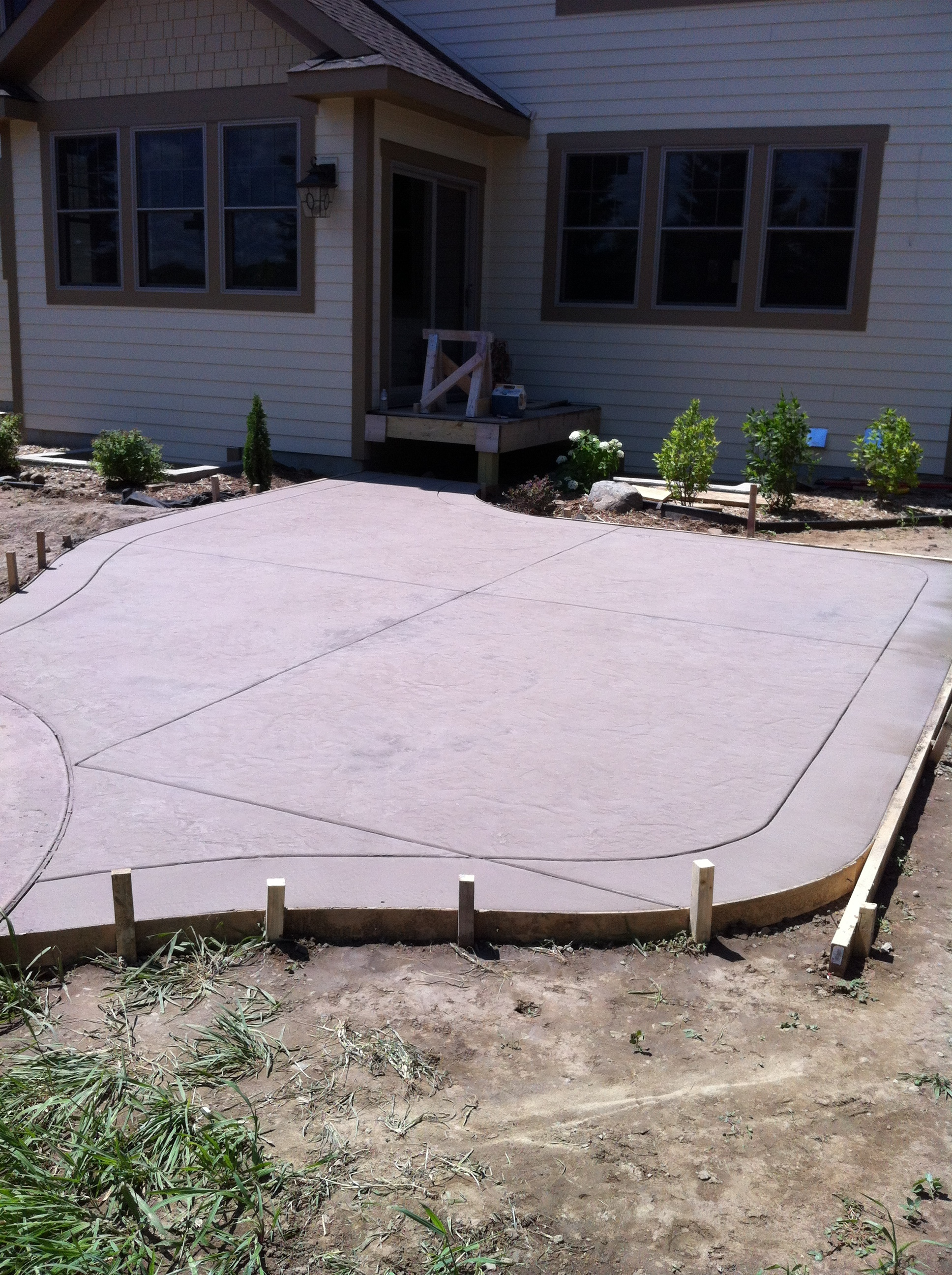 Concrete Patio – The Concrete Moon