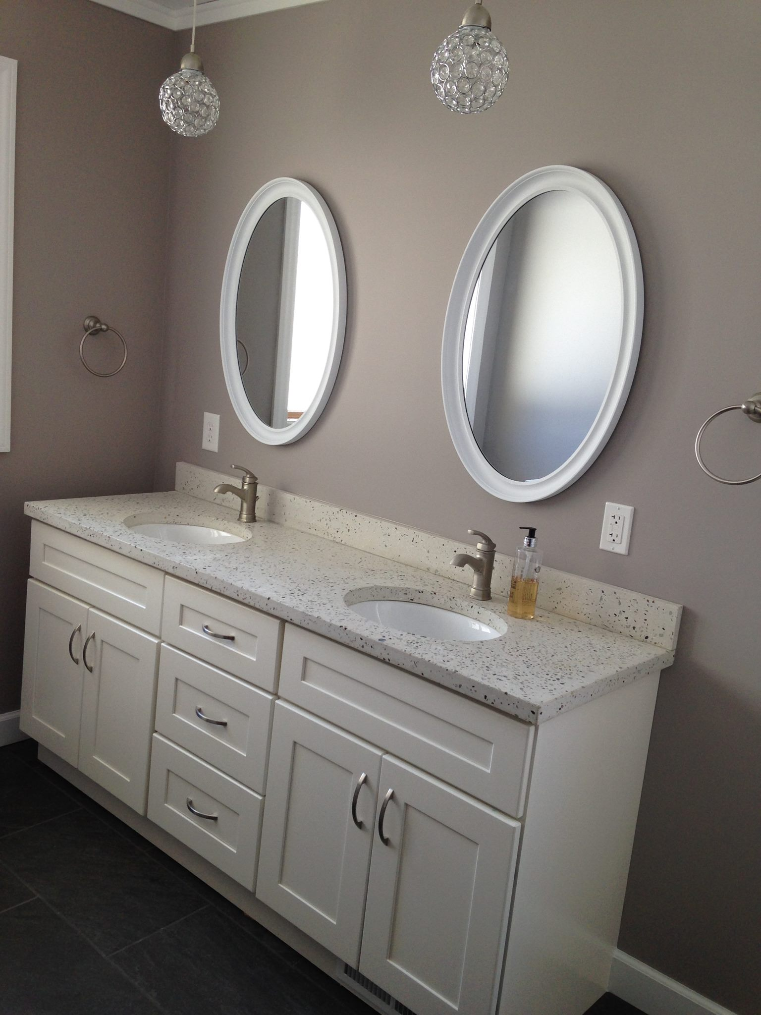 Concrete Bathroom Sink and Remodel – The Concrete Moon