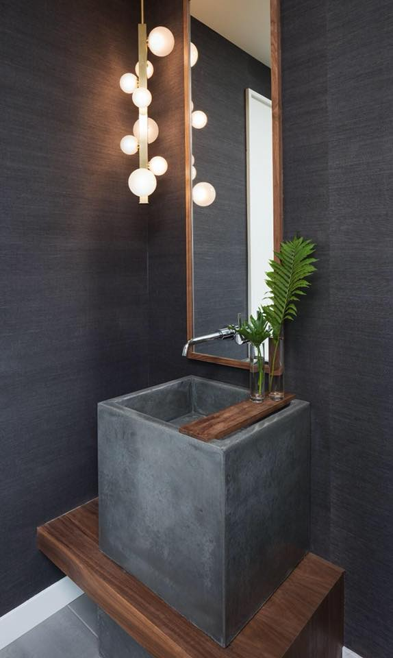 Concrete Cube Sink – The Concrete Moon