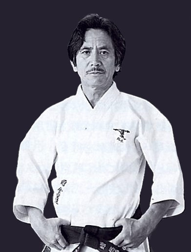 Tomosaburo Okano -  Student of Master Gichin Funakoshi  Founder of Shotokan-Kenkojuku Karate-Do  (Circa 1942)