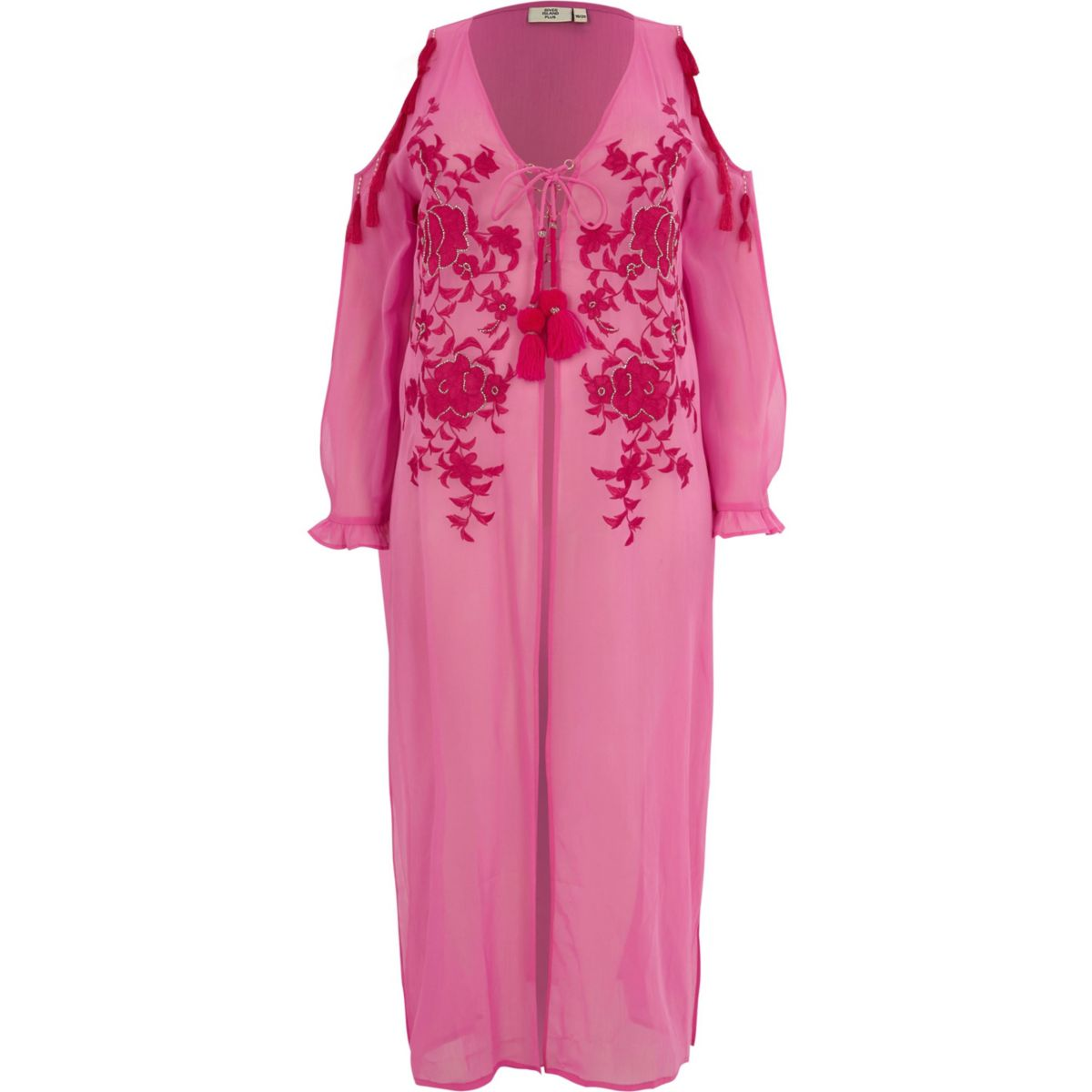 River Island Plus Size Beach Cover Up- £45