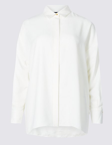 M&S Collection Long Sleeve Shirt