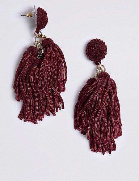 Dancing Tassel Drop Earrings