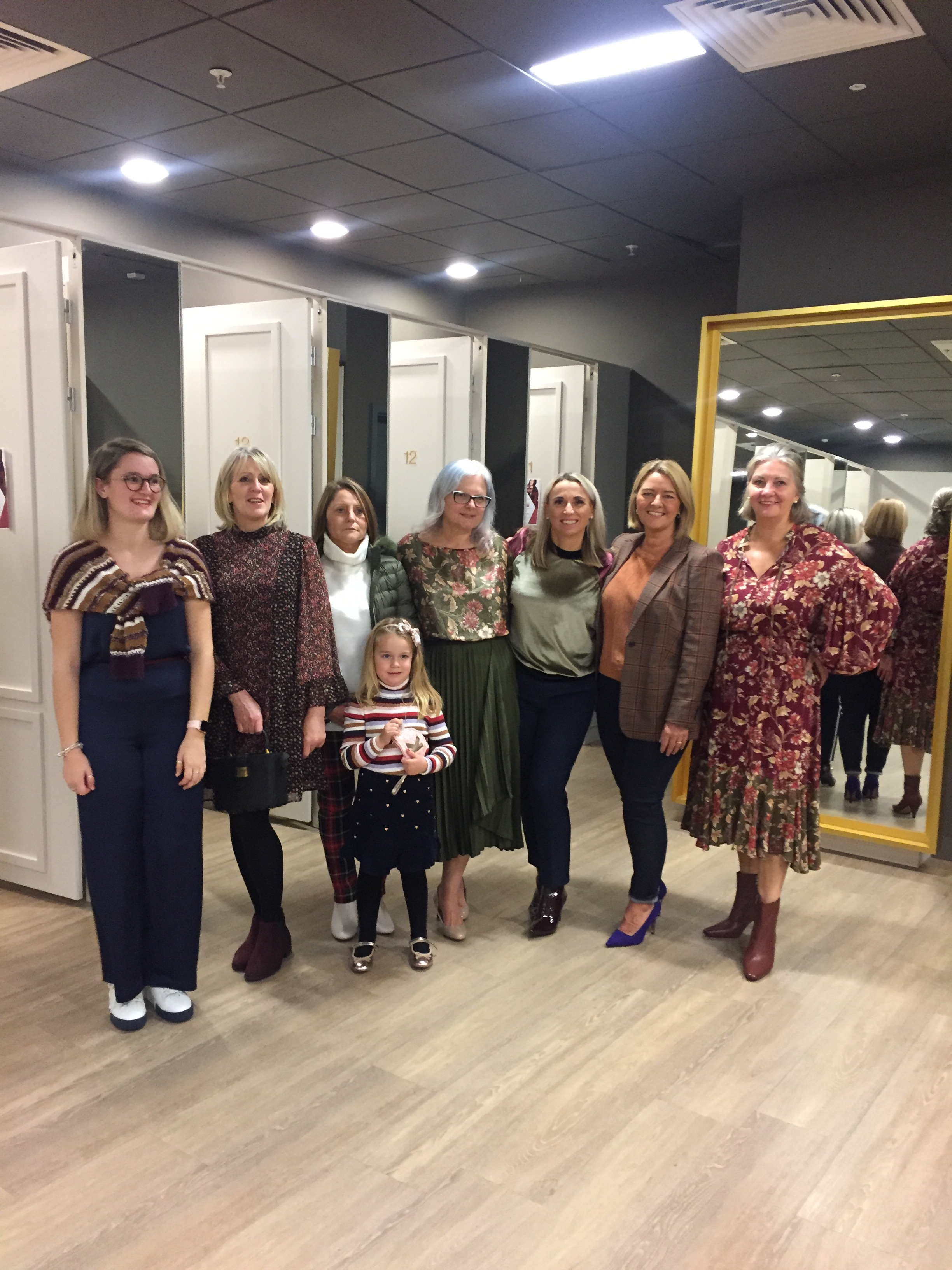 The ladies looking lovely and stylish in their brands at M&S