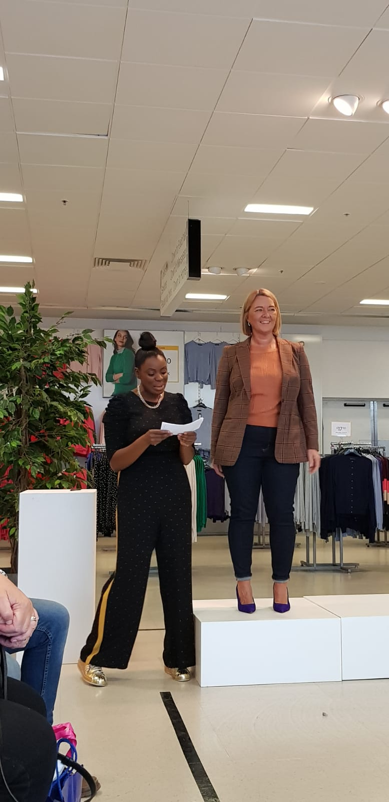 Stylist and Shopper Carlene Hosting and Presenting The Outfits We Styled