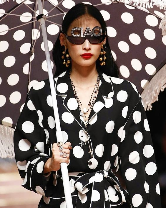 Polka dots is now TRENDING and we couldn't be happier 💃🏿💃🏻💃🏼 BIGGER and BOLDER than ever before this trend is here to stay. from high end to high street... Click link in bio and insta stories for more ●○●○●○●○●○● 📸 @dolcegabbana  #newblog #blog #blogpost #blogger #influencer #linkinbio #polkadots #howtoshopthehighstreet #howtowear #ootd #fashion #stylistpicks #stylisttip #stylist #personalstylist #personalshopper #fashionstylist #stylistsandshoppers #carlenenoelstylist #ss19 #ss19trends #trends #womenswear #dandg #dolcegabbana #highend #luxurybrands #highstreet #highstreetfashion