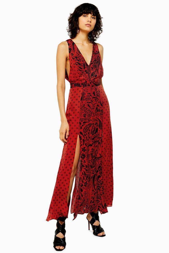 Topshop long printed dress IDOL.jpg